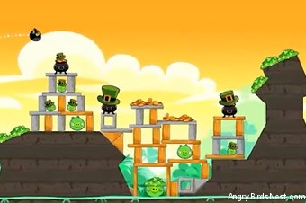 Angry Birds Seasons Go Green, Get Lucky Screen 4