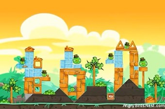 Angry Birds Seasons Go Green, Get Lucky Screen 5
