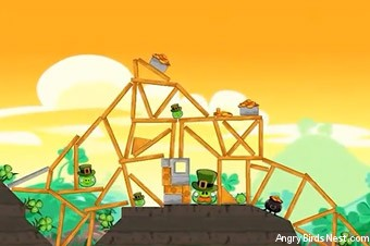 Angry Birds Seasons Go Green, Get Lucky Screen 6
