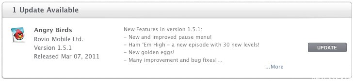 Angry Birds Mac v1.5.1 Update