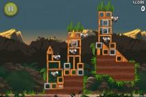 Angry Birds Rio Banana Walkthrough Level 13 (3-13)