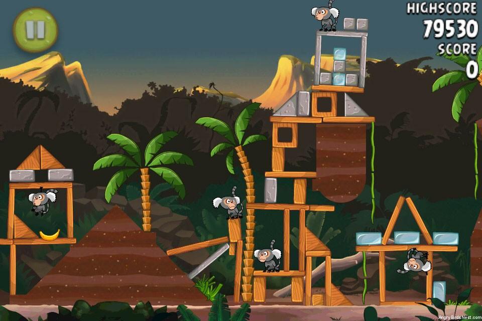 Angry Birds Rio Jungle Escape Walkthrough Level 29 4 14