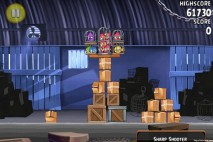 Angry Birds Rio Smugglers' Den Walkthrough Level 1 (1-1)
