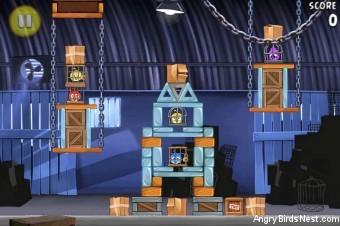 Angry Birds Rio Smugglers' Den Walkthrough Level 19 (2-4)