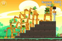 Angry Birds Seasons Walkthrough Go Green Get Lucky Level 11