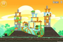 Angry Birds Seasons Walkthrough Go Green Get Lucky Level 12
