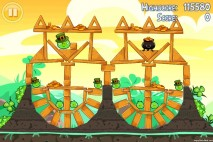 Angry Birds Seasons Walkthrough Go Green Get Lucky Level 13
