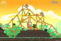 Angry Birds Seasons Walkthrough Go Green Get Lucky Level 14