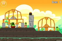 Angry Birds Seasons Walkthrough Go Green Get Lucky Level 15