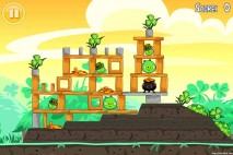 Angry Birds Seasons Walkthrough Go Green Get Lucky Level 2-1
