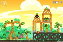 Angry Birds Seasons Walkthrough Go Green Get Lucky Level 2-2