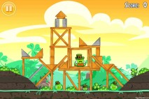 Angry Birds Seasons Walkthrough Go Green Get Lucky Level 2-3