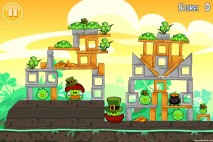 Angry Birds Seasons Free Go Green Get Lucky Level 1-3