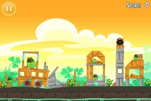 Angry Birds Seasons Walkthrough Go Green Get Lucky Level 3