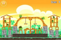 Angry Birds Seasons Walkthrough Go Green Get Lucky Level 4