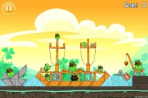 Angry Birds Seasons Walkthrough Go Green Get Lucky Level 5