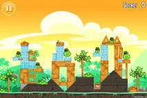 Angry Birds Seasons Walkthrough Go Green Get Lucky Level 6