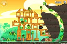 Angry Birds Seasons Walkthrough Go Green Get Lucky Level 8