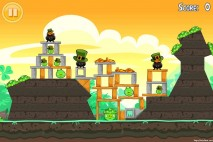 Angry Birds Seasons Walkthrough Go Green Get Lucky Level 9