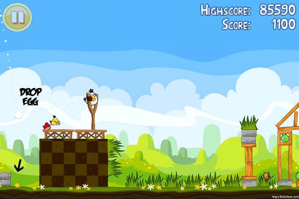 Angry Birds Seasons Easter Eggs Golden Egg 12 Walkthrough