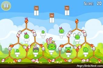 Angry Birds Seasons Easter Eggs Golden Egg #10 Walkthrough
