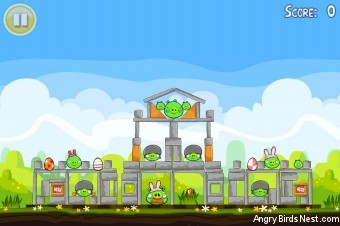Angry Birds Seasons Easter Eggs Golden Egg #11 Walkthrough
