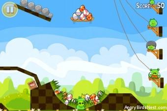 Angry Birds Seasons Easter Eggs Golden Egg #13 Walkthrough