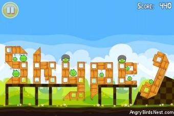 Angry Birds Seasons Easter Eggs Golden Egg #14 Walkthrough
