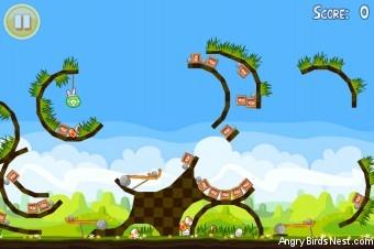 Angry Birds Seasons Easter Eggs Golden Egg #16 Walkthrough