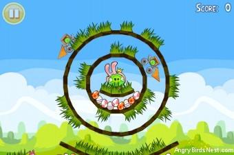 Angry Birds Seasons Easter Eggs Golden Egg #17 Walkthrough