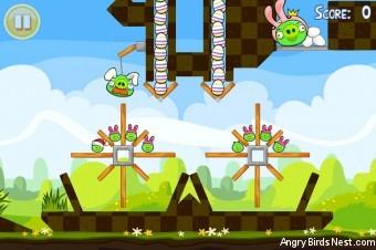 Angry Birds Seasons Easter Eggs Golden Egg #18 Walkthrough