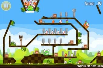 Angry Birds Seasons Easter Eggs Golden Egg #19 Walkthrough