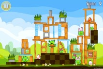 Angry Birds Seasons Easter Eggs Level 1-11 Walkthrough