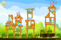 Angry Birds Seasons Easter Eggs Level 1-13 Walkthrough
