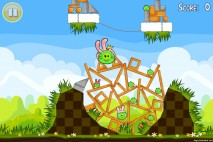 Angry Birds Seasons Easter Eggs Level 1-15 Walkthrough