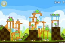 Angry Birds Seasons Easter Eggs Level 2-2 Walkthrough