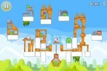 Angry Birds Seasons Easter Eggs Level 2-3 Walkthrough