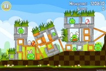 Angry Birds Seasons Easter Eggs Level 1-3 Walkthrough