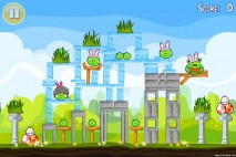 Angry Birds Seasons Easter Eggs Level 1-5 Walkthrough