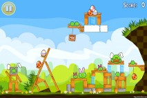 Angry Birds Seasons Easter Eggs Level 1-6 Walkthrough