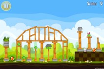 Angry Birds Seasons Easter Eggs Level 1-7 Walkthrough