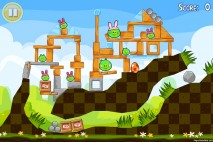 Angry Birds Seasons Easter Eggs Level 1-8 Walkthrough
