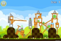Angry Birds Seasons Easter Eggs Level 1-9 Walkthrough