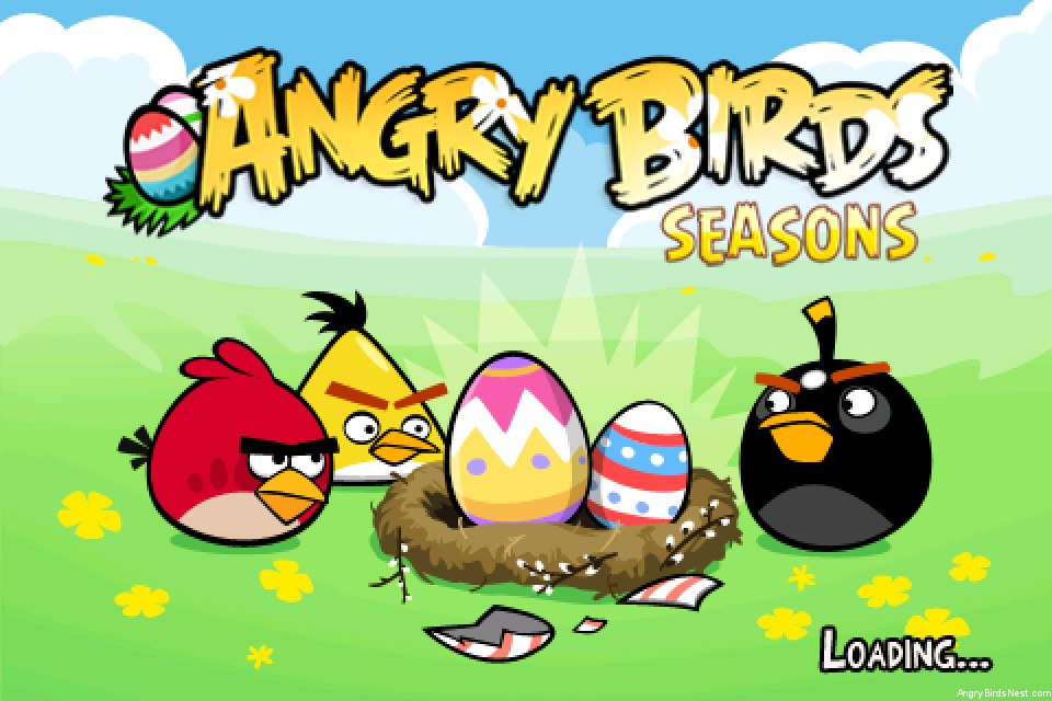 Angry Birds Seasons Easter Eggs Out Now for iOS & Android