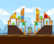 Angry Birds Chrome Logo Location Level 1-16