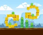 Angry Birds Chrome Logo Location Level 5-5