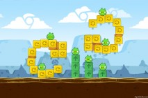 Angry Birds Chrome Dimension Level #10 Walkthrough
