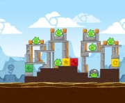 Angry Birds Chrome Logo Location Level 1-18