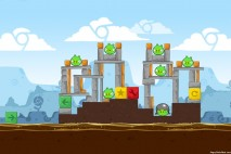 Angry Birds Chrome Dimension Level #2 Walkthrough