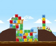 Angry Birds Chrome Logo Location Level 1-20